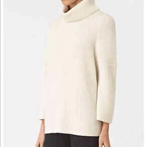 All Saints Jago Roll Neck Sweater